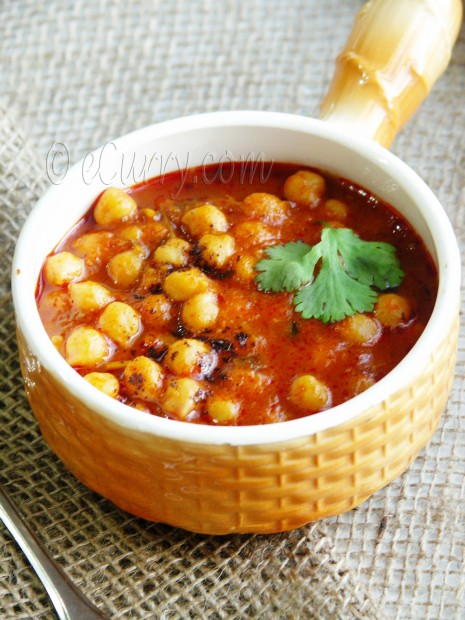 Chickpeas with Tomato and Roasted Cumin