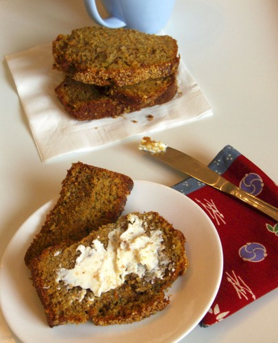 Fruit and Vegetable Whole Grain Bread 1