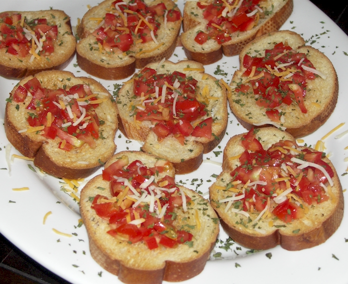 bruschetta bruschetta originates from central italy is usually served ...