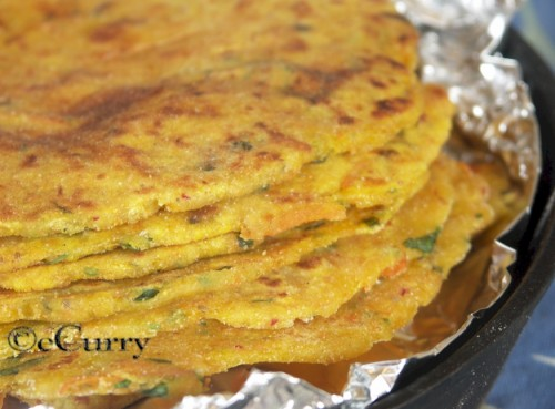 Mixed Flour & Root Vegetables Paratha/Flatbread | eCurry - The Recipe ...