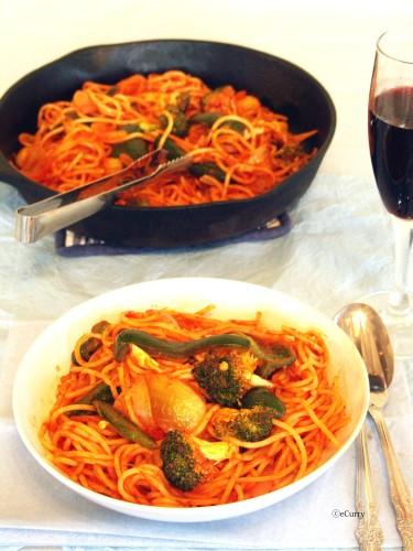 Skillet Spaghetti 3