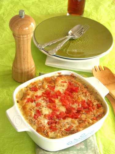 Vegetable Au Gratin | eCurry - The Recipe Blog