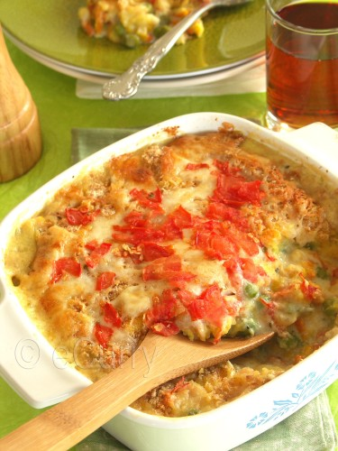 Vegetable Au Gratin 2