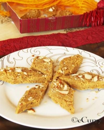 Besan ki Burfi – A Chickpea Fudge? | eCurry - The Recipe Blog