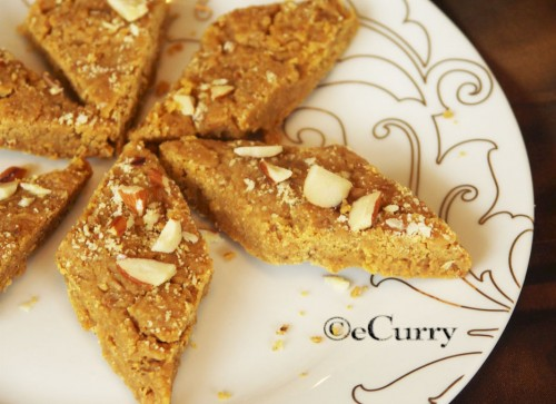 Besan ki Burfi – A Chickpea Fudge? | eCurry - The Recipe Blog