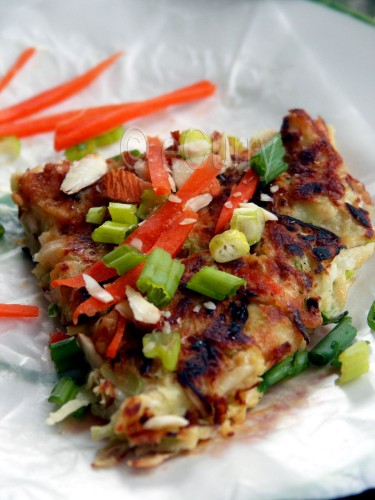 "Okonomiyaki aka ""Japanese Pizza"" | eCurry - The Recipe Blog"