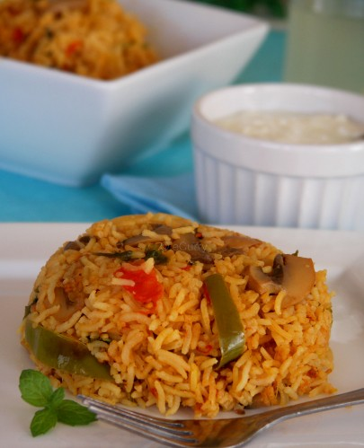 spicy-tomato-rice-mushrooms-1