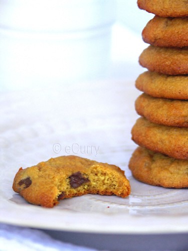 Chocolate Chip Ginger Cookies 2