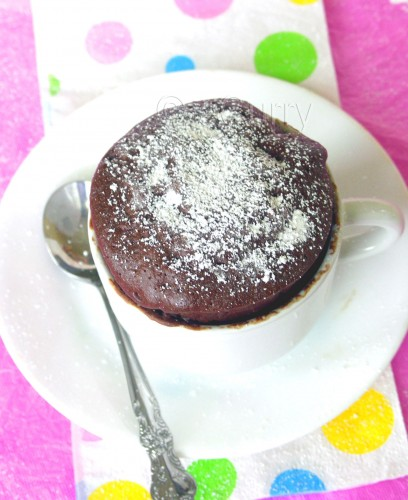 Microwave Cupcake | eCurry - The Recipe Blog