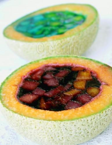 Melon Boats | eCurry - The Recipe Blog