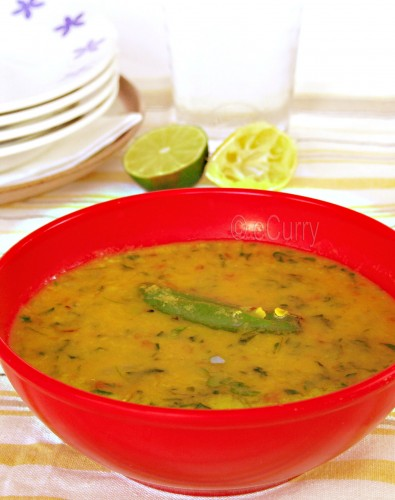Methi Dal (Lentil Soup with Fenugreek) | eCurry - The ...