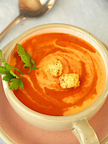 Red Bell Pepper Soup 2 copy