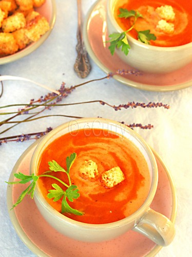Red Bell Pepper Soup 5 copy