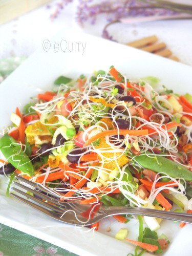Summer Salad with Citrus & Lavender 8
