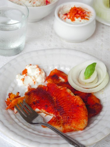 Tandoori Fish | eCurry - The Recipe Blog