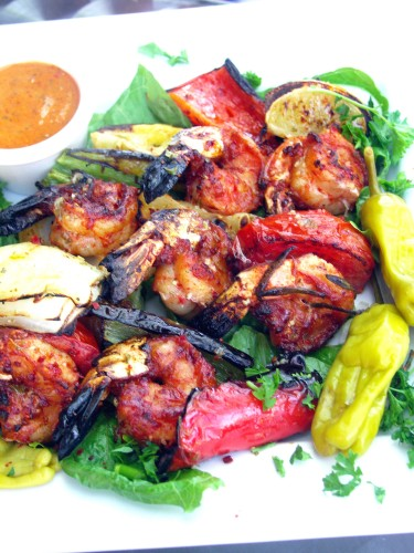 Istanbul grilled shrimp