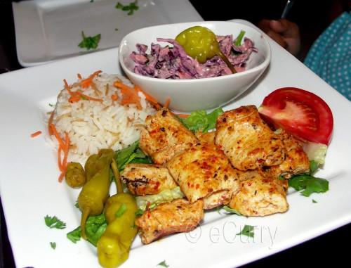 Istanbul tavuk shish