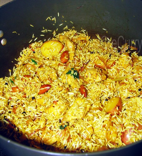 Chicken Pulao 1