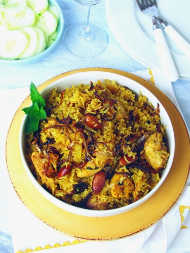 Chicken Pulao 2