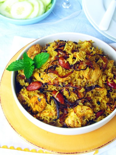 Chicken Pulao 3