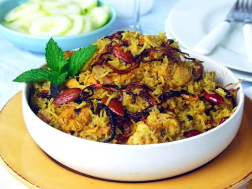 Chicken Pulao 4