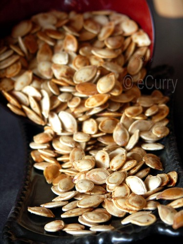 Toasted Pumpkin Seeds 1