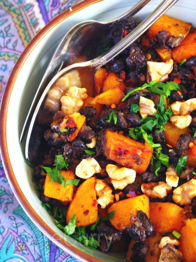 Butternut Squash and Black Bean 3