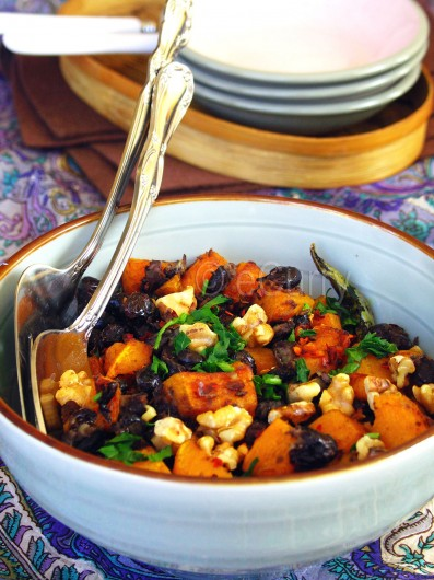 Butternut Squash and Black Bean 4