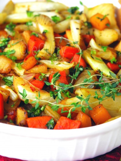 Honey Glazed Root Vegetables 3