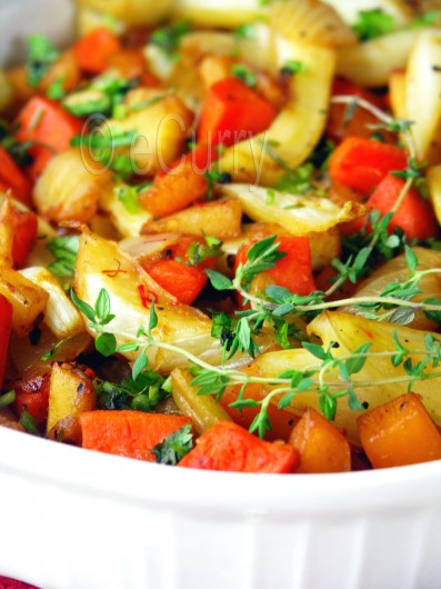 Honey Glazed Root Vegetables 4