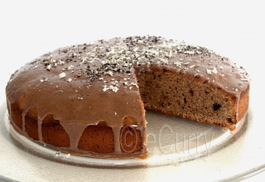 Eggless Chocolate Coffee Cake 2