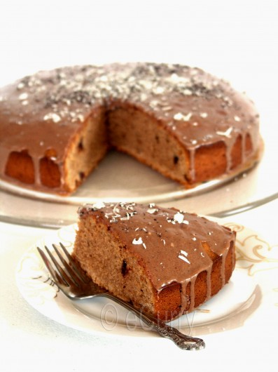 Eggless Chocolate Coffee Cake 3