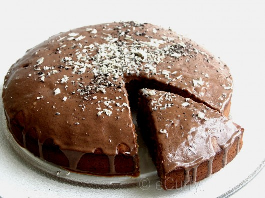Eggless Chocolate Coffee Cake 5