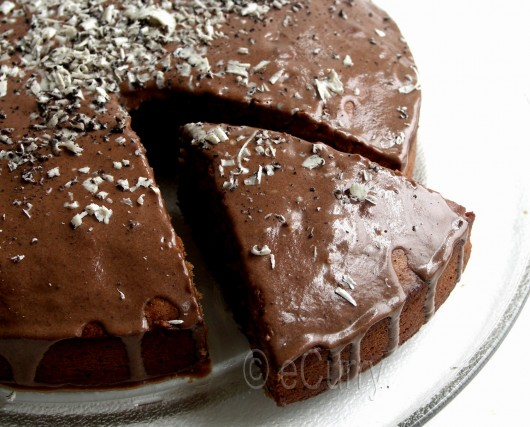 Eggless Chocolate Coffee Cake 6