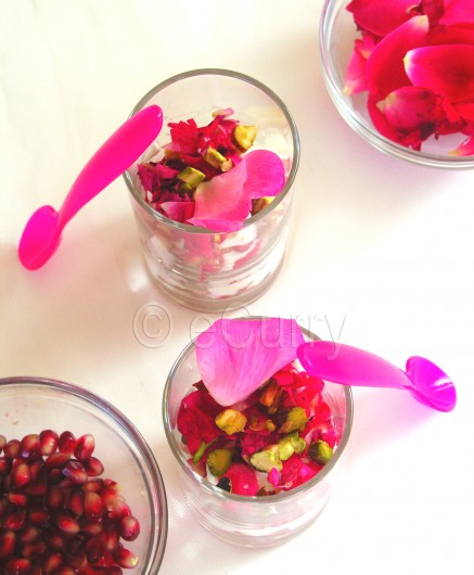 Pomegranate & Rose Yogurt 1