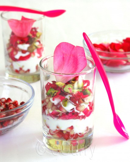 Pomegranate & Rose Yogurt 4