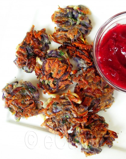 Purple Potato Latke 1