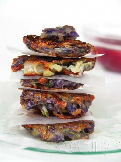 Purple Potato Latke 3