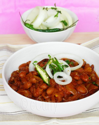 Curried Cranberry Beans | eCurry - The Recipe Blog