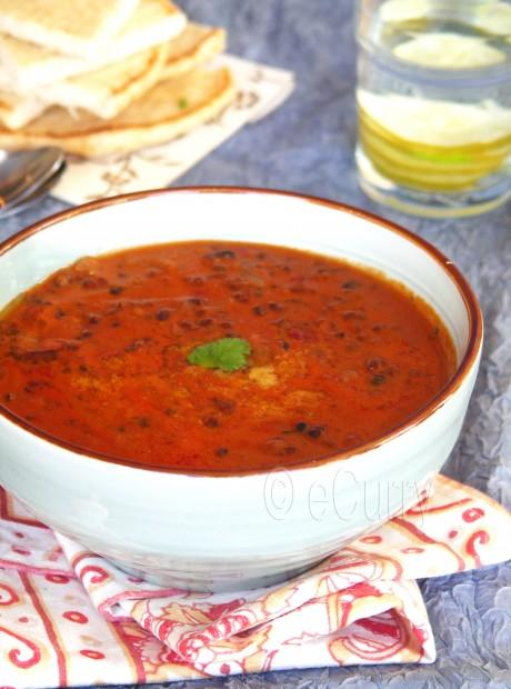 Dal makhani/ Creamy lentils