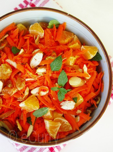 Moroccan Carrot and Orange Salad 2