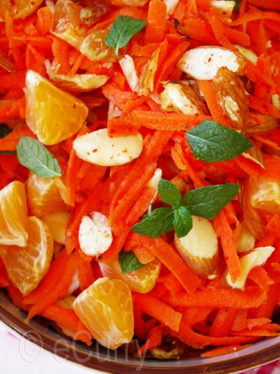 Moroccan Carrot and Orange Salad 3