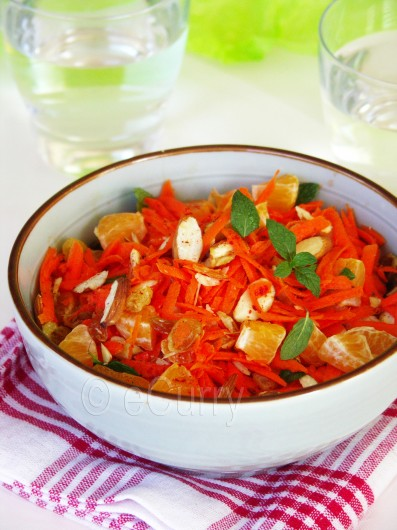 Moroccan Carrot and Orange Salad 4