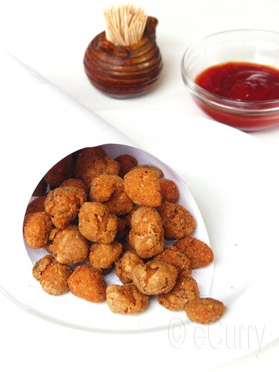 Vegan Popcorn Chicken 4