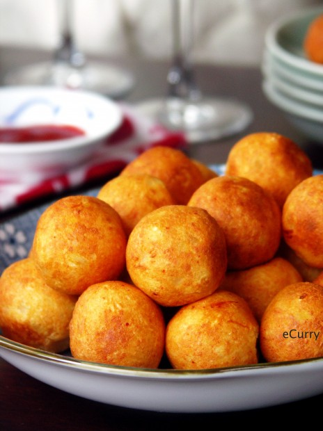 Paneer Kofta/Stuffed Cheese Balls