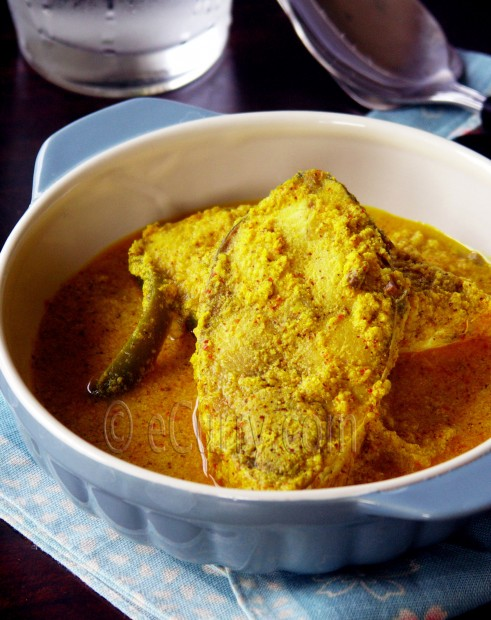 Bhapa Ilish/Steamed Hilsa