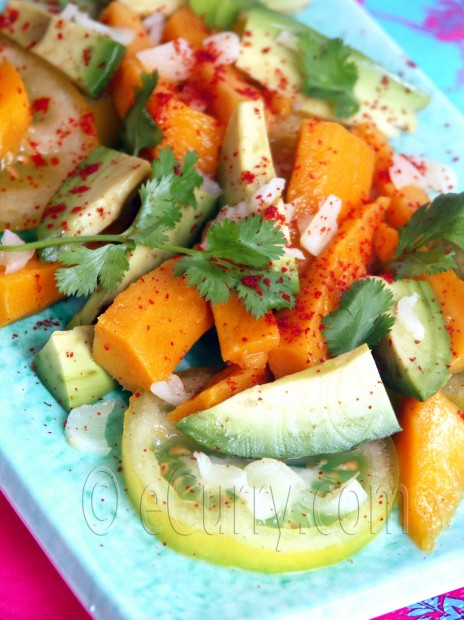 Avocado and Mango Salad  Recipe