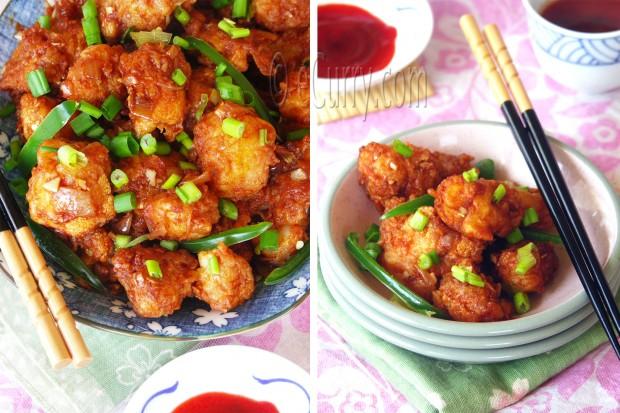 Gobi Manchurian/Cauliflower Fritters