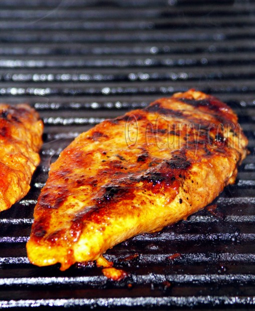 Grilled Chicken with Amazing Taste seasoning