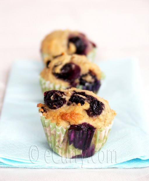 Lime and Blueberry Muffin Recipe